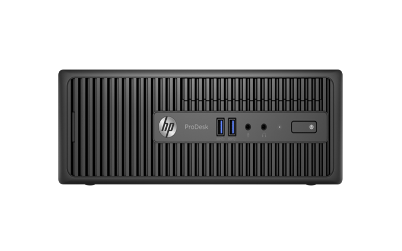 PC HP ProDesk 400 G3 con factor de forma reducido
