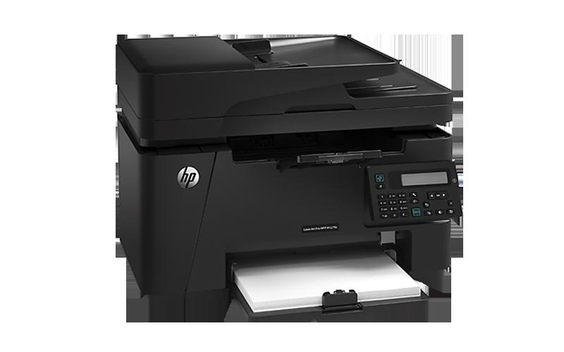 Impresora Multifuncional HP LaserJet Pro M127fn